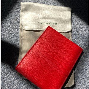 Levenger Red Passport Sleeve